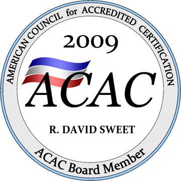 ACAC Board Member 2009