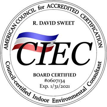 ACAC - CIEC - Indoor Enviromental Consultant