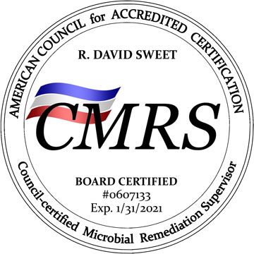 ACAC CMRS Board Certified Microbial Remediation Supervisor