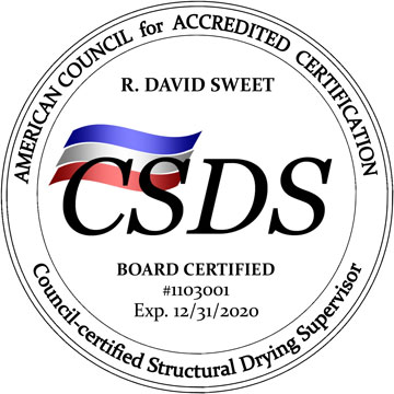 ACAC-Board Certification Structural Drying